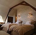 Solana Bedroom, Cami de Bidale Bed & Breakfast, French Pyrenees near Lourdes